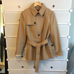 Camel wool blend jacket 🧥 by Banana Republic